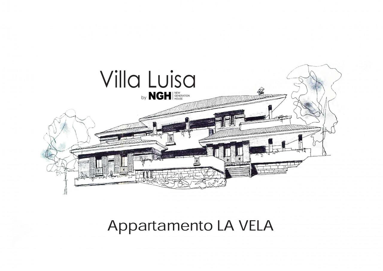 """Sirolo appartamento """"LA VELA"""" con ingresso indipendente e posto auto riservato"""